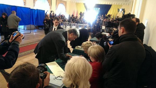 Петр Порошенко. Фото twitter Святослав Циголко