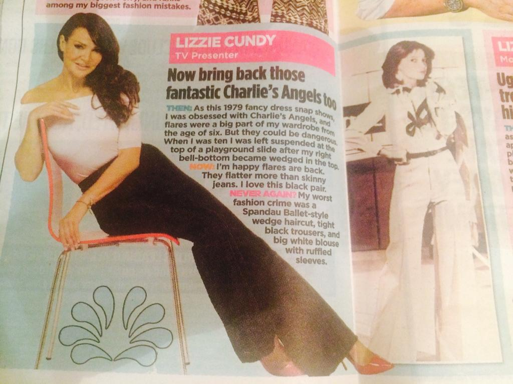 Morning !! Make sure you buy the Sunday Mail doing ..lovely piece about me in flares !! http://t.co/wJ4yYQQEAy