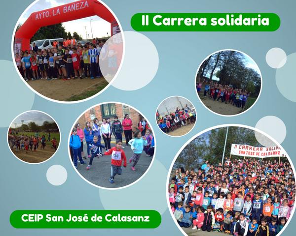 II CARRERA SOLIDARIA en el Colegio San José de Calasanz #labañeza http://t.co/5s3YjVZkty