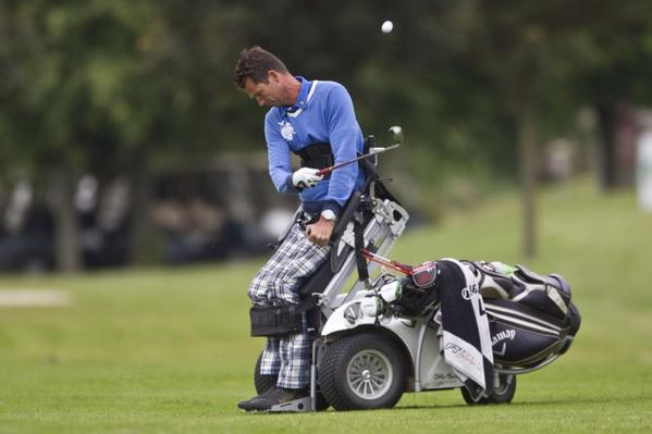 Foto Golf met handicap