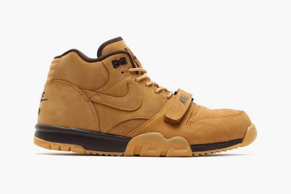 save off 74483 3f442 nike air trainer 1 mid prm qs wheat the 3rd one in the pack