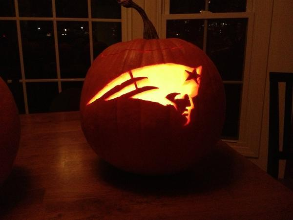 New england patriots on twitter quot pregame pumpkin carving