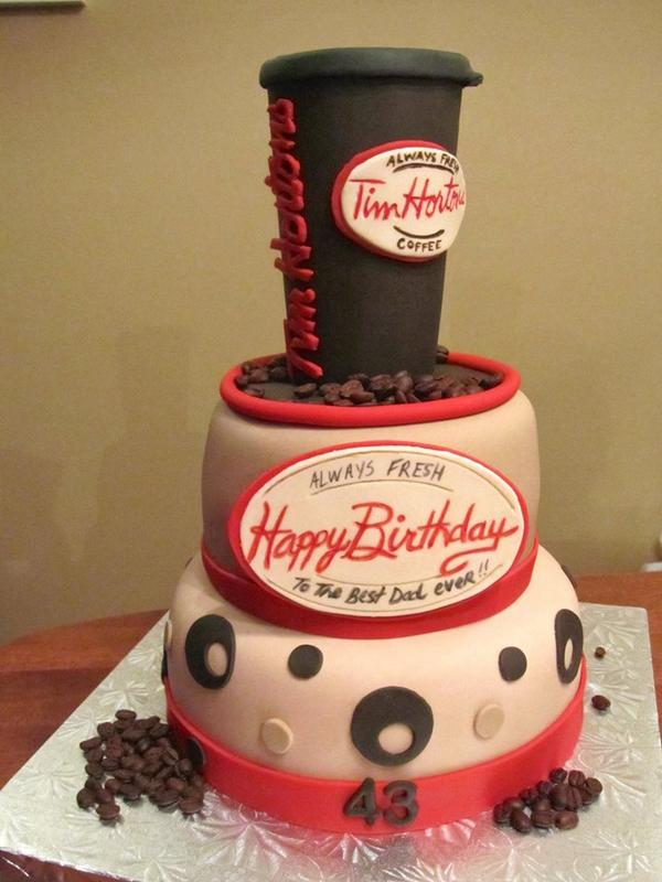 Tim Hortons On Twitter Who Wouldnt Want This As A Birthday Cake