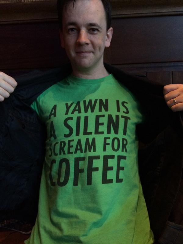 A yawn is a silent scream for coffee. Featuring @Japh http://t.co/czkfJjtn5Y