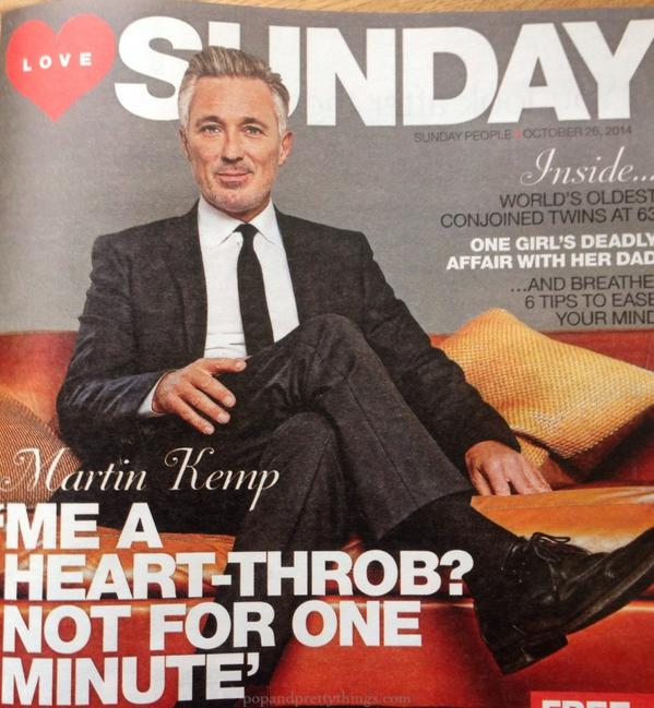 One of my favourite interviews in a long time, @realmartinkemp is a pleasure to talk to. (For @LoveYourSunday mag) http://t.co/tIZNo4qMDM