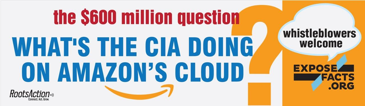 Image result for amazon 600 million cia