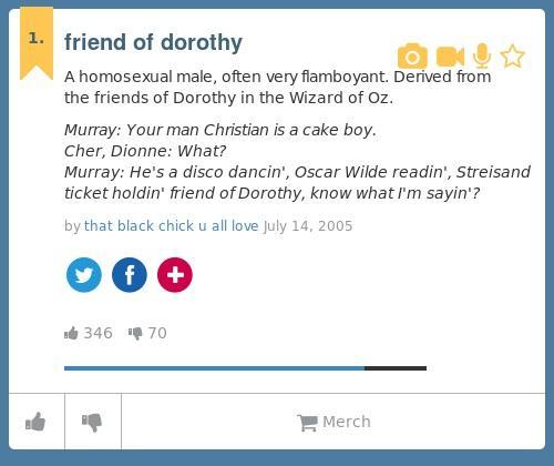 Homosexual urban dictionary