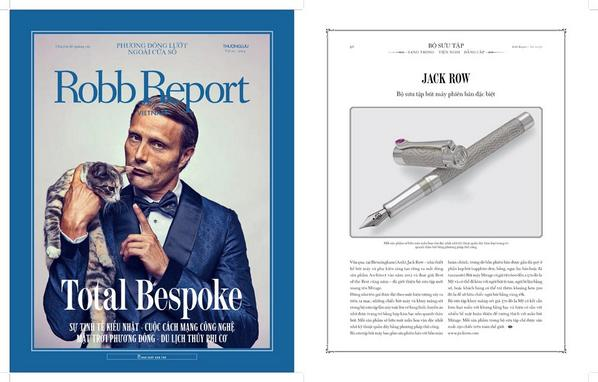 Jack Row 'Mirage Collection' feature in this months' edition of luxury mag @RobbReportVN #RobbReportVietnam #Luxury http://t.co/Y40D6CAWKq