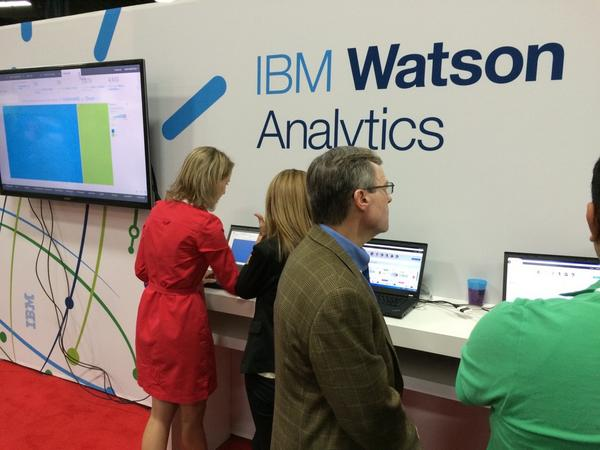 IBM #Watson making a show. #ibminsight http://t.co/pjxR5gL0w8