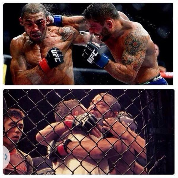 Such a great fight between @chadmendes n @josealdojunior much respect to @dedepederneiras #Hispect OSSSS!! http://t.co/NYNPT5TKOz