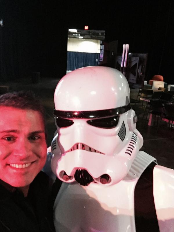 Finally made it to dev @ #IBMInsight - these are not the developers you are looking for! http://t.co/WNAIeCfKwG