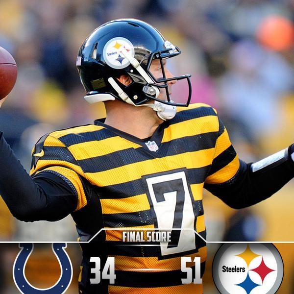 Let's hear it #SteelersNation YOUR #Steelers WIN 51-34 http://t.co/7M2QiKFoEn