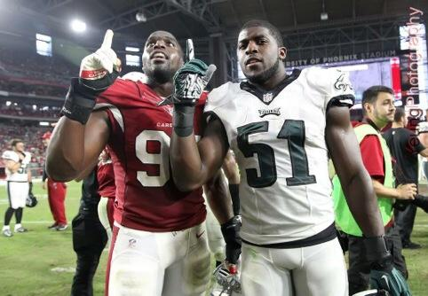Had a BLAST playing my brother today. @thEMANacho DOMINATED 4 the @Eagles, but the @AZCardinals pulled it out. #lfg http://t.co/vmDM0ZXHPs