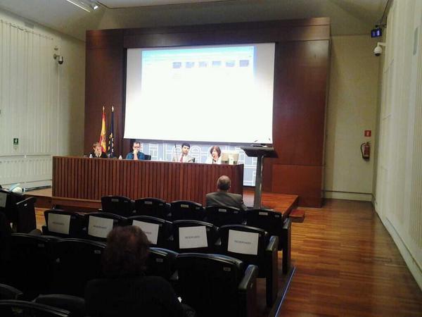 """Ahora: mesa redonda """"Fuentes audiovisuales para el conocimiento histórico y social"""" #PatrimonioAudiovisual http://t.co/KZ3ysZDnPQ"""