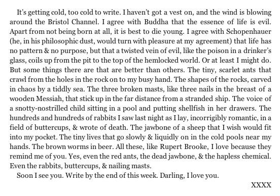 The Love Letters Of Dylan Thomas Letters of Note on Twi...