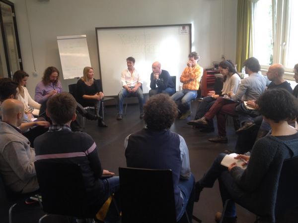 Primo incontro del progetto http://t.co/UW8IkmVbu8 ad Impact Hub #Amsterdam. http://t.co/W9pMKClywI