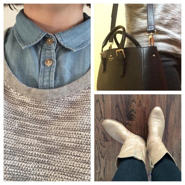 Today: denim and cowboy boots. Most of us keep it pretty casual at Dig Inn HQ. –Margo, @diginn #DayInTheLife http://t.co/DRWXz1YPSm