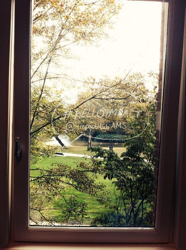 Good morning @ImpactHubAMS ! Windows on the world #tuscanyonthemove @HUBFirenze http://t.co/RLuqt0BD0d