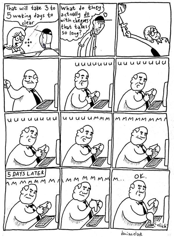 Comic Comic - Cheques http://t.co/Ga9ahqQAnK