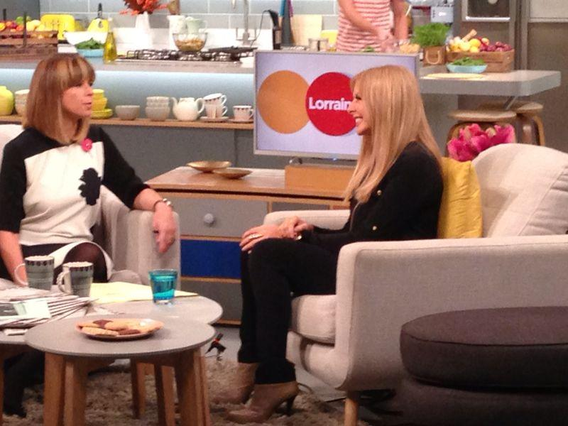 Earlier with the lovely @kategarraway talking about @themathsfactor and our Graduation Day x http://t.co/RnU5zPIVjM
