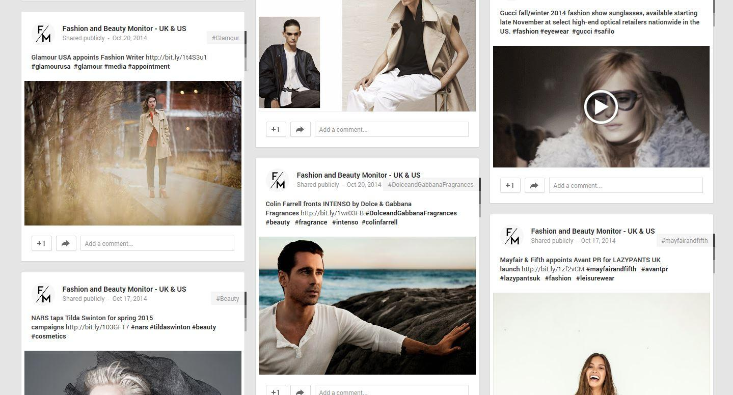Are you already following us on Google+ http://t.co/DB3vYHggfs? #fashion #beauty #lifestyle #media http://t.co/LpOrfPE0Zj