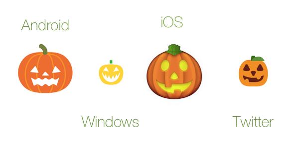 "Emojipedia 📙 On Twitter: ""🎃 Jack-O-Lantern Emoji: Platform"