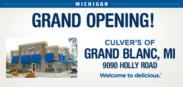 Culver S Restaurants On Twitter Today The Grand Opening Of Blanc Mi We Re Serving Up All Sorts Deliciousness