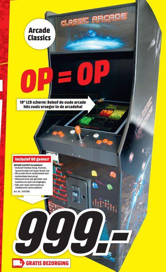 Olaf V M On Twitter Vet De Mediamarkt Gaat Arcadekast