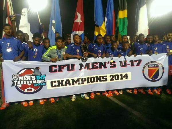 Avant de parler de jobs et opportunités d'emploi, compliment à sélection haïtienne U-17 qui est championne! http://t.co/2qgIjEAMkk