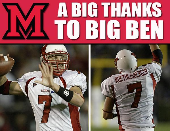Former RedHawk, @_BigBen7, gives back in a big way to Miami Athletics http://t.co/XhY584aAVa http://t.co/tQReYkfxMr