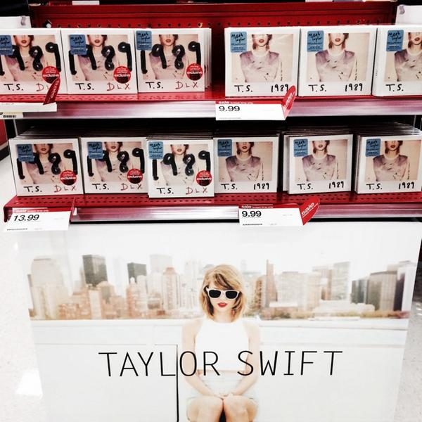 Happy Album Release Day @taylorswift13 Holy.Wow.Flawless. Let the #1989 obsession begin! Do you have your copy yet?! http://t.co/N92JGBLvBU