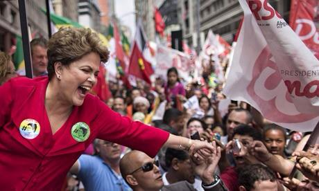 Congratulations to President Dilma Rousseff on winning re-election in #Brazil! http://t.co/uQFcHEZLox