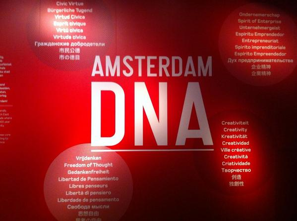 Visiting @AmsterdamMuseum DNA Understanding a culture! With @ImpactHubAMS Project Tom @HUBFirenze http://t.co/aUIqlQ5AvP