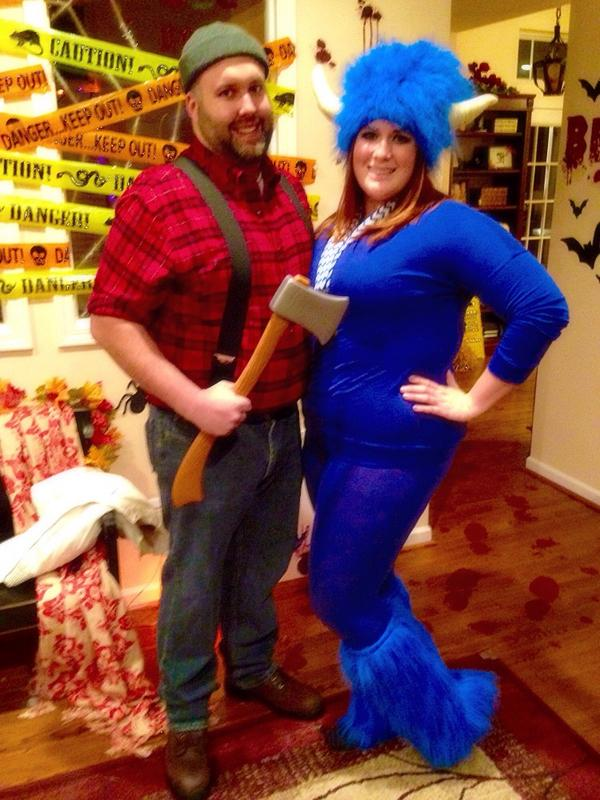 paul bunyan and babe halloween costumes