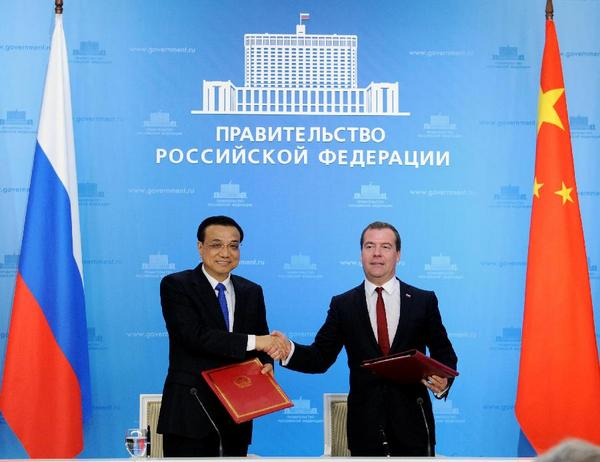 China Russia Mon Signed New Agreement Extend 400 Billion Deal Of