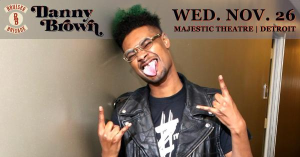 Just Announced: @xdannyxbrownx @ The Majestic Theatre Wed, Nov. 26th! Tix on sale Fri here > http://t.co/U1sVelk8rh http://t.co/pVzmlKh6uf