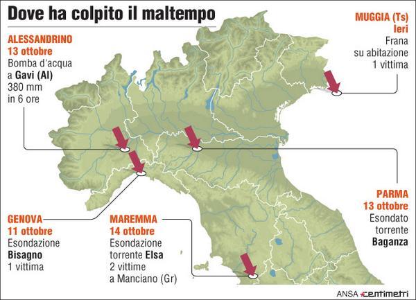 Thumbnail for MAPPATURA DEL MALTEMPO