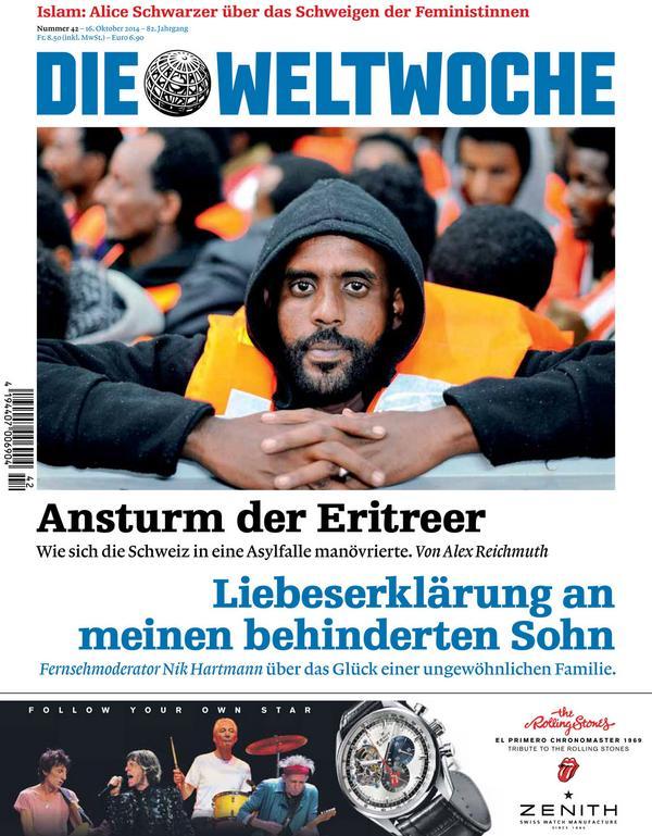 Aktuelle Ausgabe die weltwoche on aktuelle ausgabe ansturm der eritreer