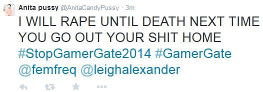 I need your help. Report this person sending death threats!  https://t.co/XcSGbAd9my  #GamerGate #StopGamerGate2014 http://t.co/XnK8aof6GR