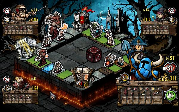 Yacht Club Games On Twitter Shovel Knight Joins The Adventure Of - Digital board game table
