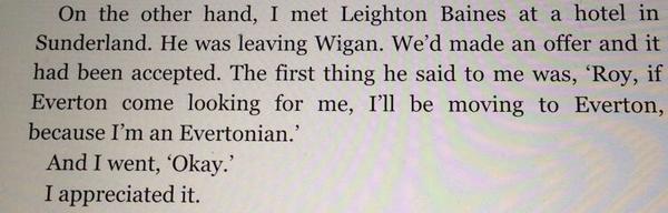 Roy Keane on Leighton Baines http://t.co/d8vvKG8aeN