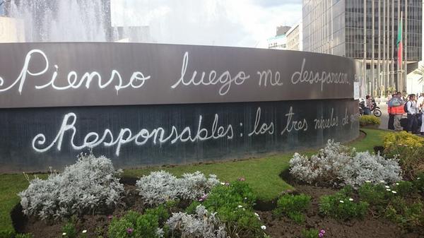 [México] Pienso, luego me desaparecen