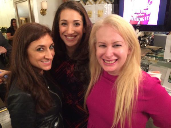 Beauties at the @WhiteTeaMedSpa! @alywalansky @BryceGruber @BethShapouri http://t.co/YDzaDu5kC4