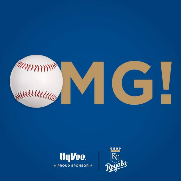 Is this really happening? YES! #BeRoyalKC ⚾️⚾️⚾️⚾️ http://t.co/82EFjGz4l2