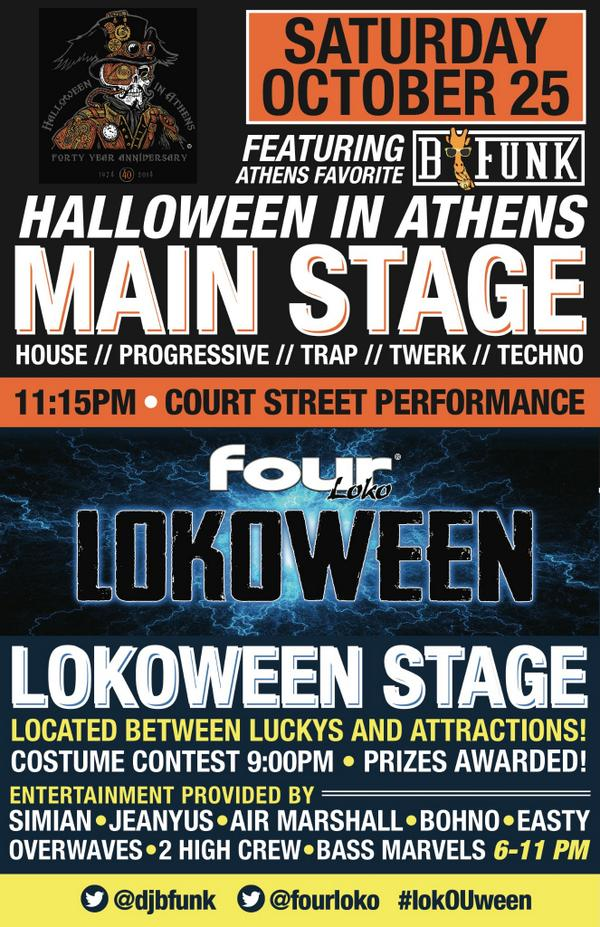 #HallOUween meet #LokOUween Next week we celebrate 40 years! 3 Stages and 6 FULL hours of Dance Music! #OUohyeah http://t.co/TIDHfWzKsX