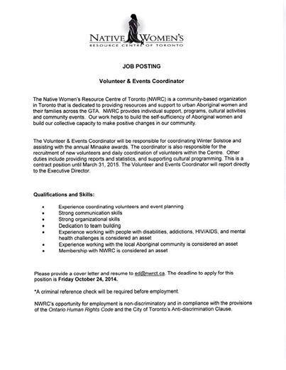 Cover Letter Sample - The Bridgespan Group