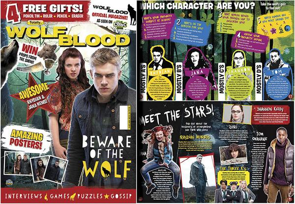 titan magazines on twitter wolfblood magazine is out in. Black Bedroom Furniture Sets. Home Design Ideas