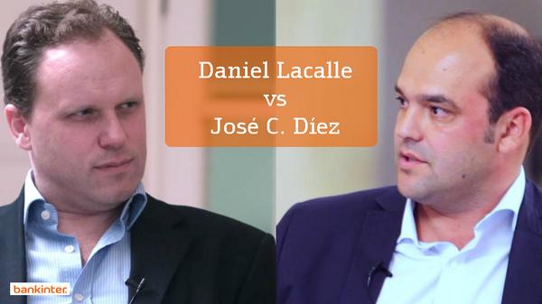 Ver el cara a cara de los economistas @dlacalle y @josecdiez (video) http://t.co/ANw0sPF4ml http://t.co/Xiljtts3ak