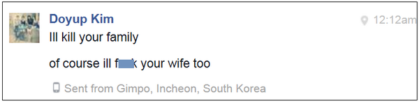 Fan mail received on Facebook from South Korea: http://t.co/z3aVHAsjNY