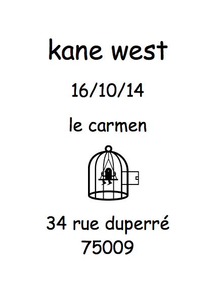 Kane West dj set ce soir, ouverture des portes à minuit cc @djKaneWest - http://t.co/jg8275huXn http://t.co/S9mXdRp3uE